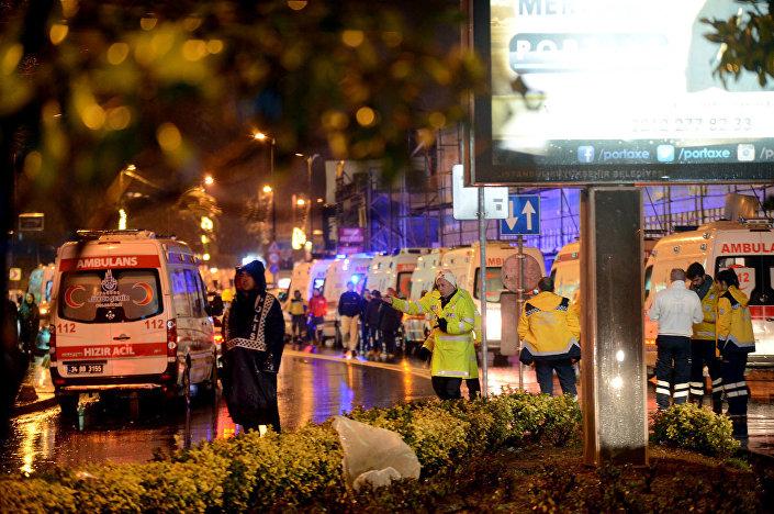 Photo of اسطنبول تفتح سنة2017 بتفجير إرهابي