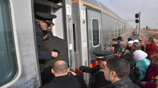 Photo of قطار حلب يستأنف رحلاته