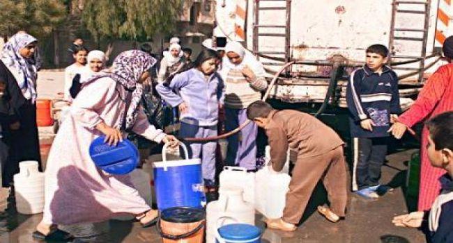 Photo of تنفيذ سيئ لبرنامج توزيع المياه