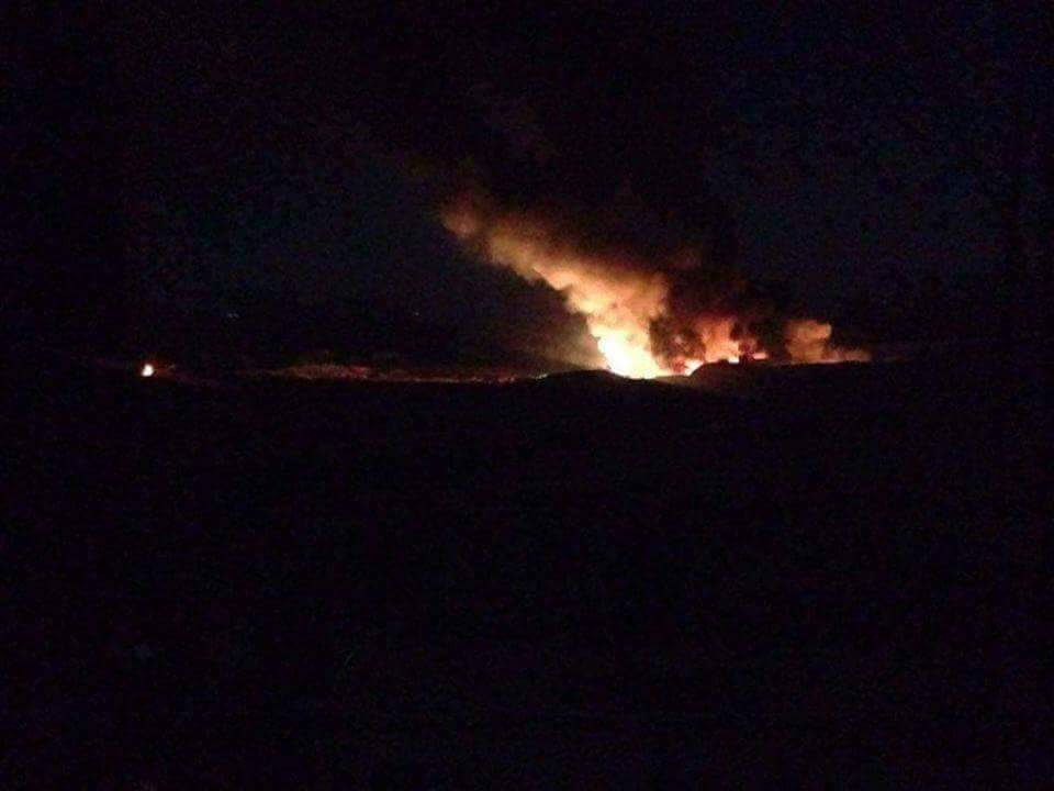 Photo of إسرائيل تقصف مطار المزة العسكري في دمشق