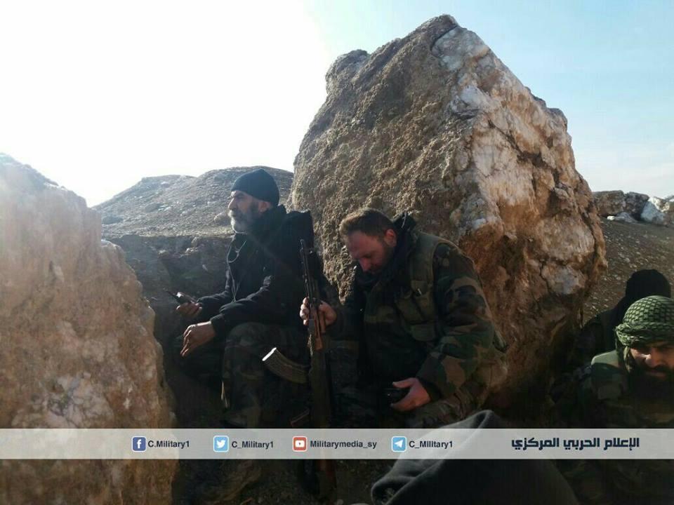 Photo of أسود دير الزور يواصلون عملياتهم ضد داعش