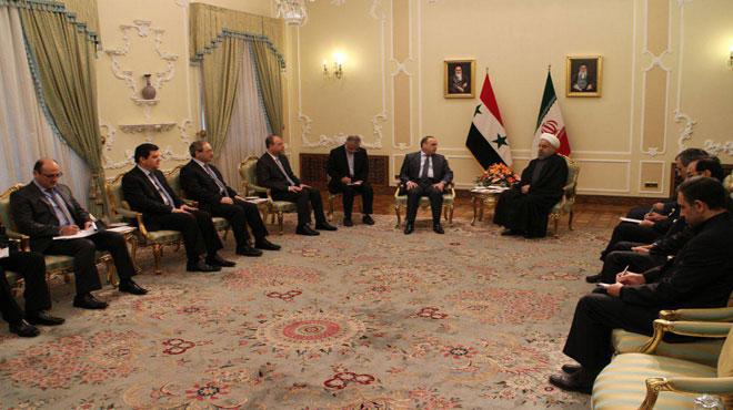 Photo of روحاني لـ خميس نؤكدعلى تعزيزالشراكة بين بلدينا