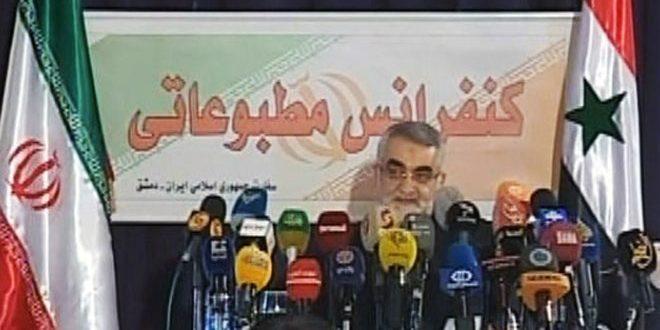 Photo of ايران تجدد دعم سوريا