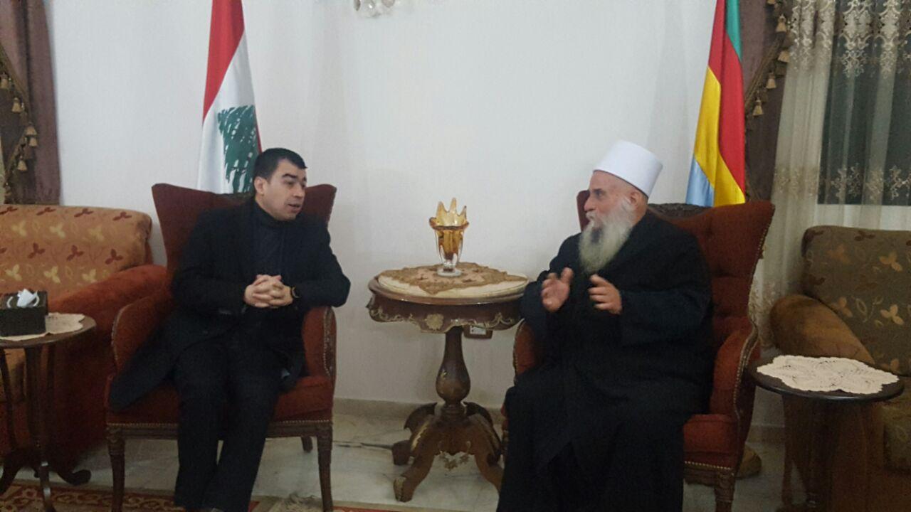 Photo of الشيخ نصر الدين الغريب يلتقي الوزير ابو خليل