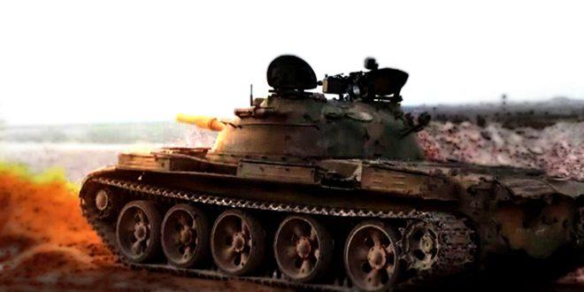 Photo of الجيش يقصف مجموعات إرهابية تابعة لنصرة بـريف حمص