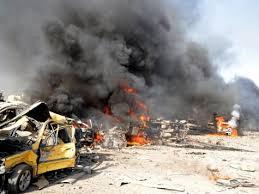 Photo of شهداء وجرحى بتفجيرين إرهابيين بالقامشلي