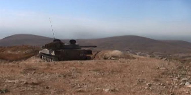 Photo of الجيش يدمر عدة أليات لداعش بريف حمص