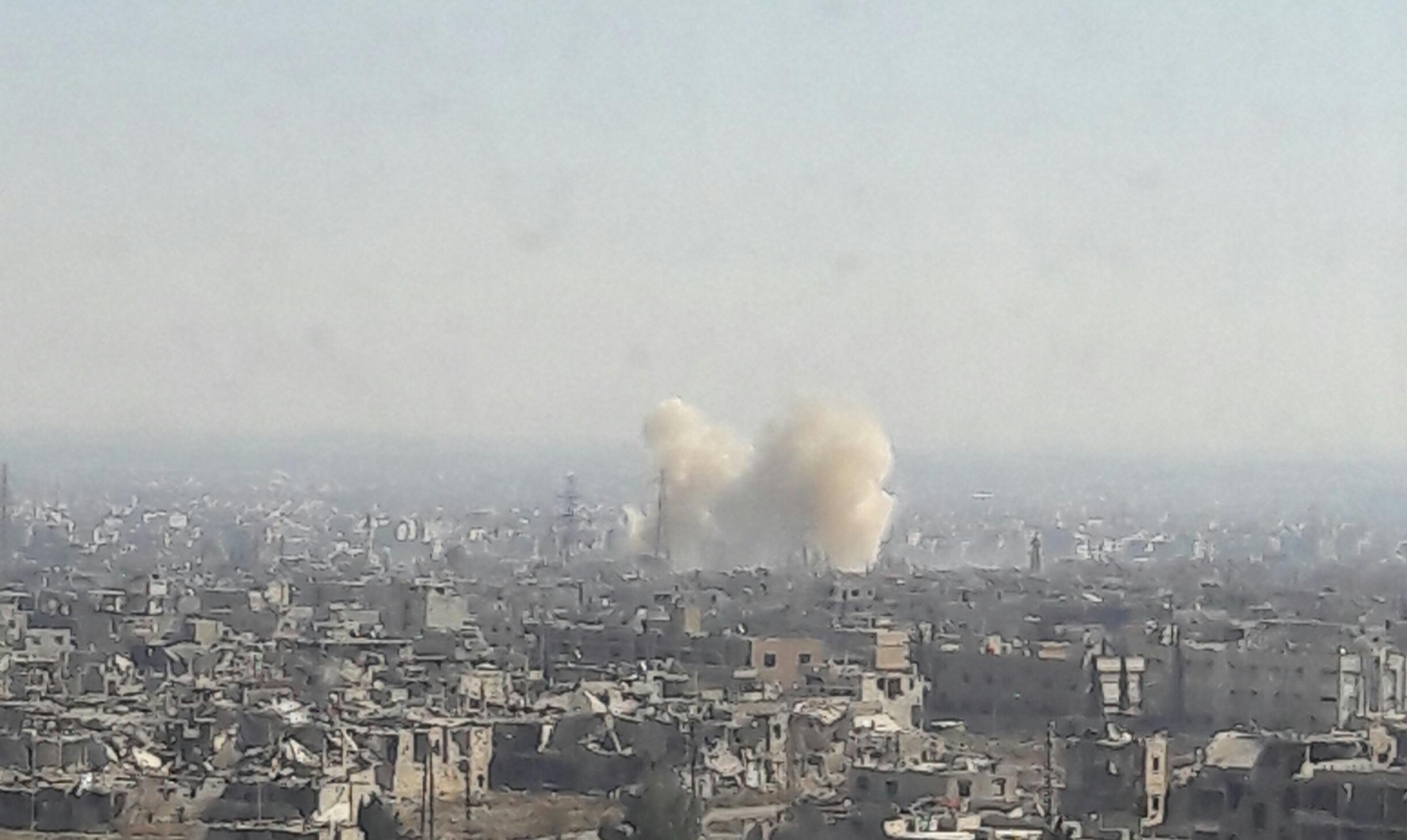 Photo of الجيش يقصف إرهابيي القابون