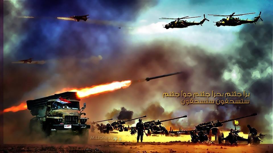 Photo of اشتباكات عنيفة بحي المنشية بدرعا