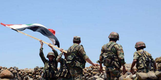 Photo of الجيش يتقدم باتجاه حقل المهر بريف حمص