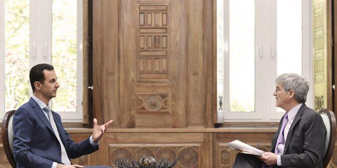 Photo of الأسد: مسؤوليتي اعادة الاستقرار لسوريا ليعود اللاجئين