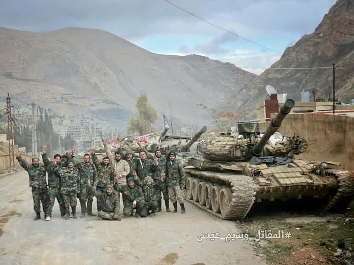 Photo of عمليات عسكرية متواصلة بدرعا ودير الزور