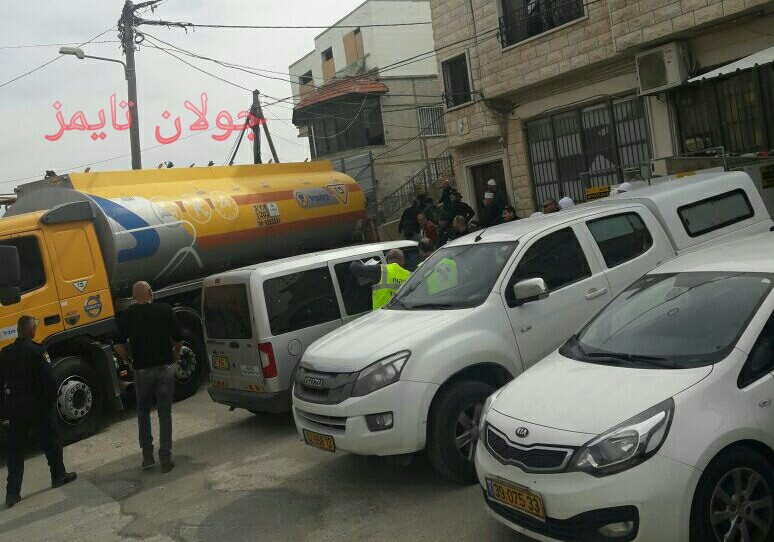 Photo of شرطة الاحتلال تصادر محطات الوقود بمجدل شمس