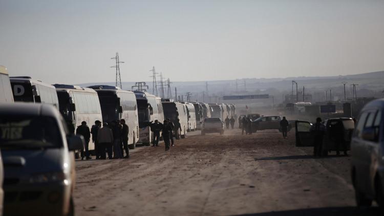 Photo of تأجيل إجلاء إرهابيي الوعر