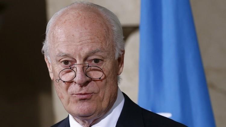 Photo of دي مستورا يعد ببذل جهود كبيرة لنجاح الجولة السابعة من المحادثات السورية