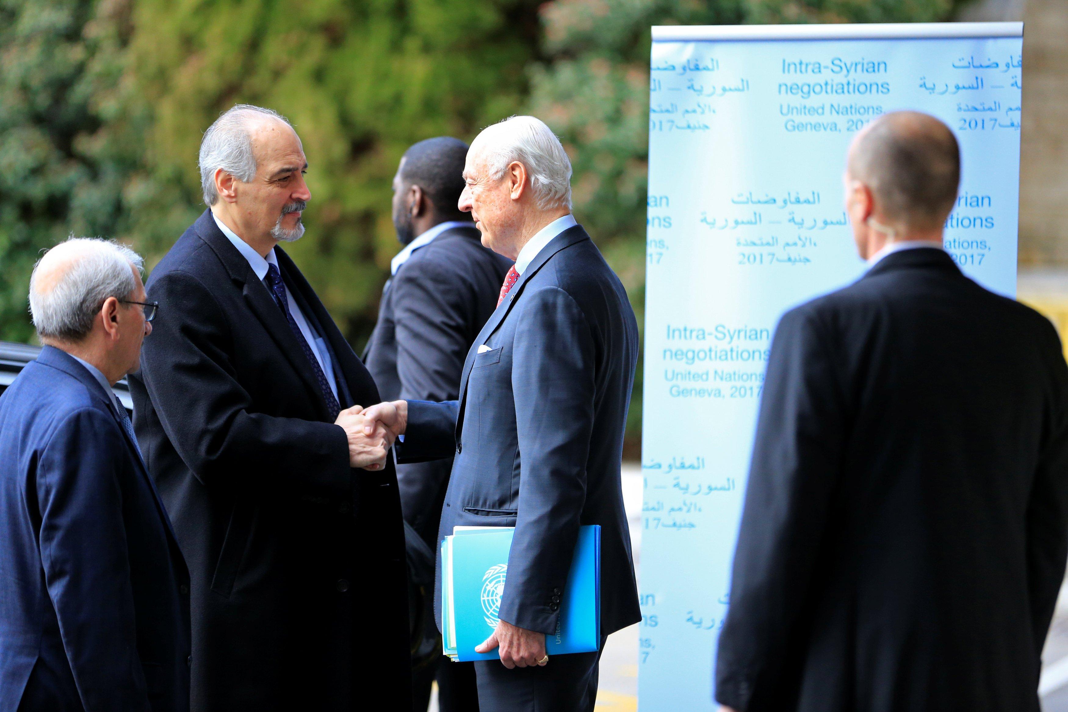 بالجلسة الأخيرة .. دي مستورا يجب على استفسارات وفد الجمهورية العربية السورية