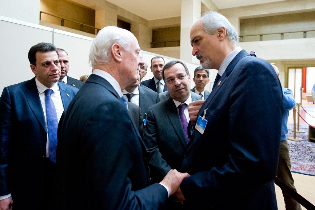 Photo of دي مستورا لوفد سوريا: هذا الاجتماع مختلف