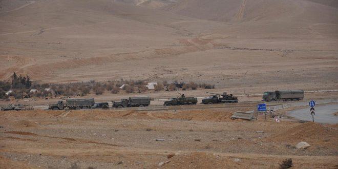 Photo of الجيش يواصل تمشيط احياء تدمر