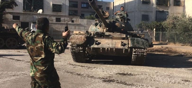 Photo of اخر التطورات العسكرية بدمشق وريفها وحمص