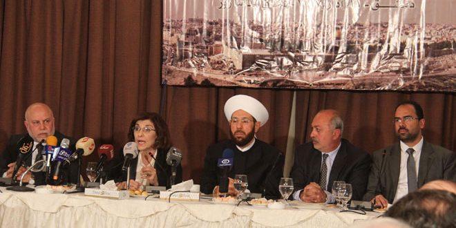Photo of شعبان تجتمع مع امناء مؤسسة القدس الدولية