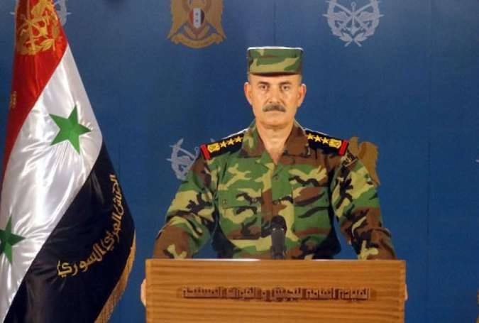Photo of بيان صادر عن القيادة العامة للجيش العربي السوري حول ما جرى ليل أمس