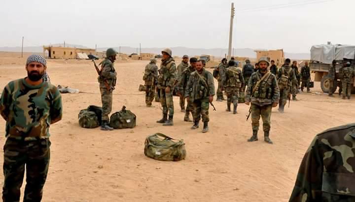 Photo of الجيش على أبواب تدمر