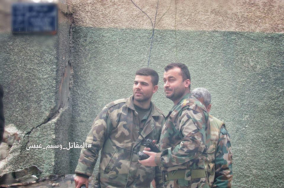 Photo of بالصور- معركة جوبر بعدسة أسود الحرس الجمهوري