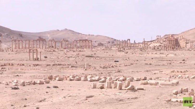 Photo of اليونيسكو: حماية آثار تدمر قضية تاريخية
