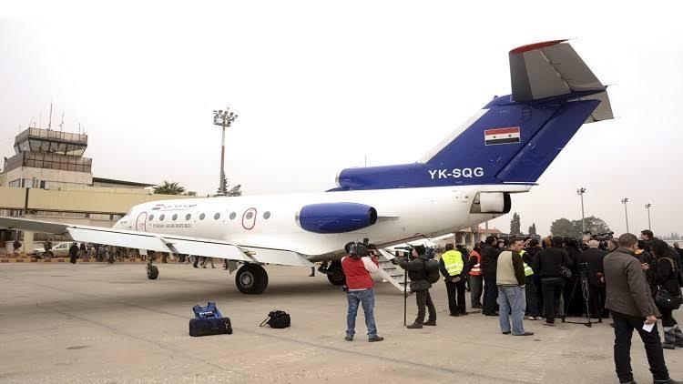 Photo of استئناف الرحلات الجوية بين حلب والقاهرة قريبا