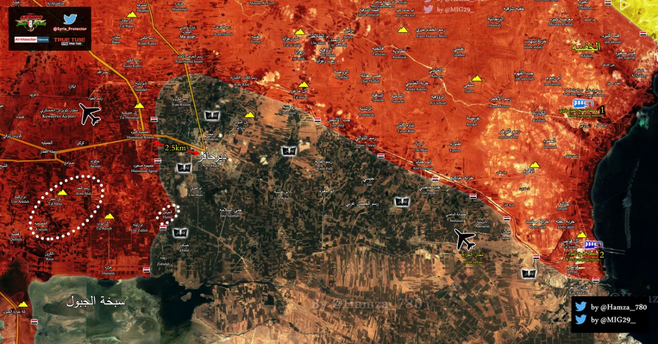 Photo of بالخريطة : وضعية الجيش بريف حلب
