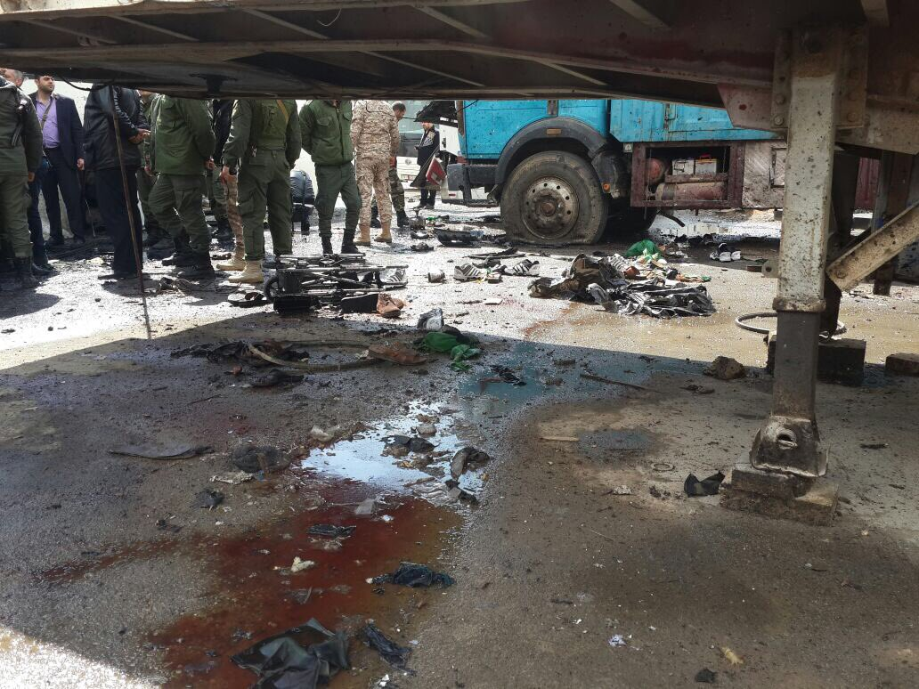 Photo of 40 شهيداً بتفجير إرهابي استهدف زوار مقام السيدة رقية بدمشق