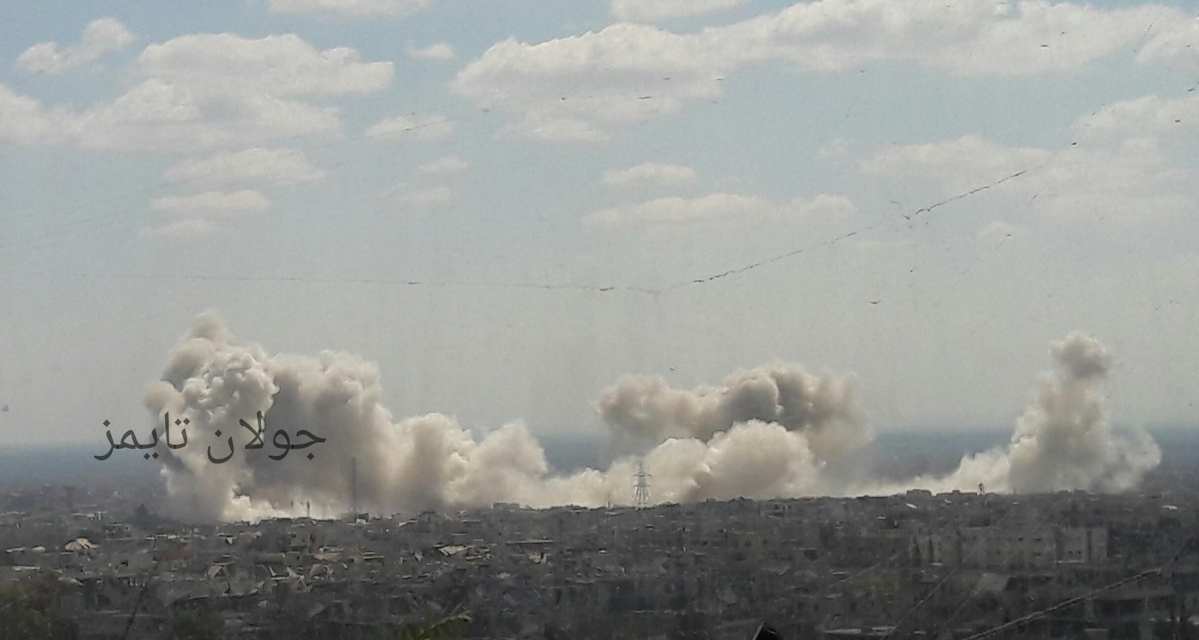 Photo of صواريخ الحق تستهدف إرهابيي القابون