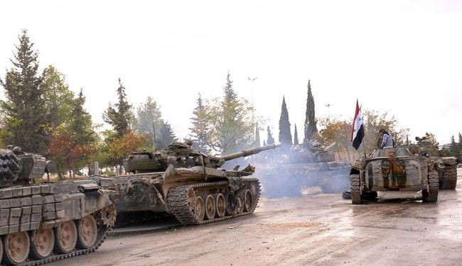"Photo of الجيش يطوق ""دير حافر"" أهم معاقل داعش"