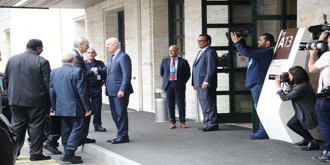 Photo of وفد الجمهورية السورية يعقد جلسة محادثات مع دي ميستورا