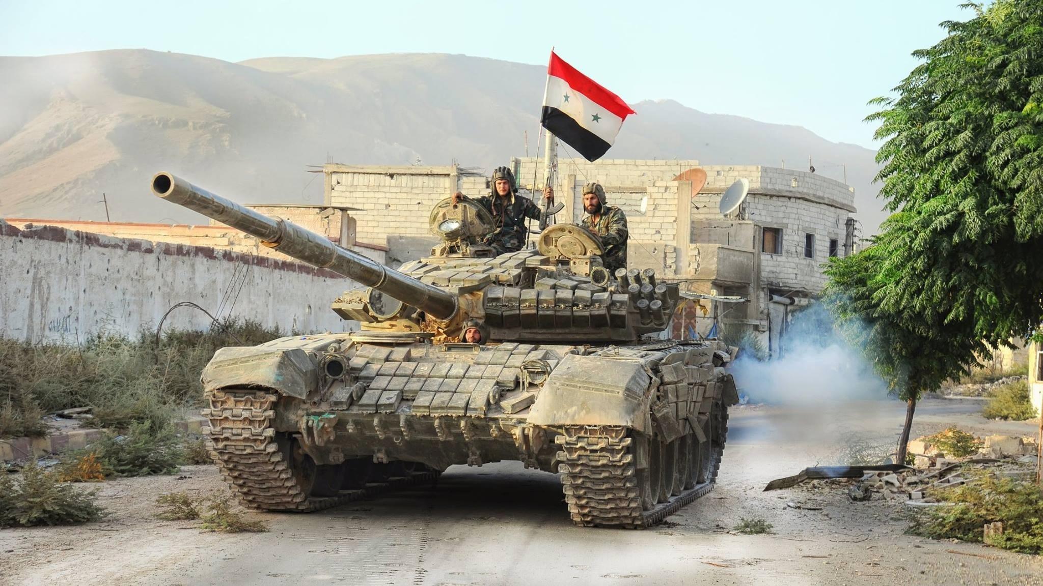 "Photo of الأركان الروسية: القوات السورية تحاصر مجموعة كبيرة من ""داعش"" في دير حافر بحلب"