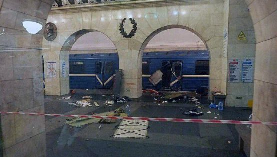 Photo of تفجير إرهابي مزدوج في مدينة سان بطرسبورغ بروسيا