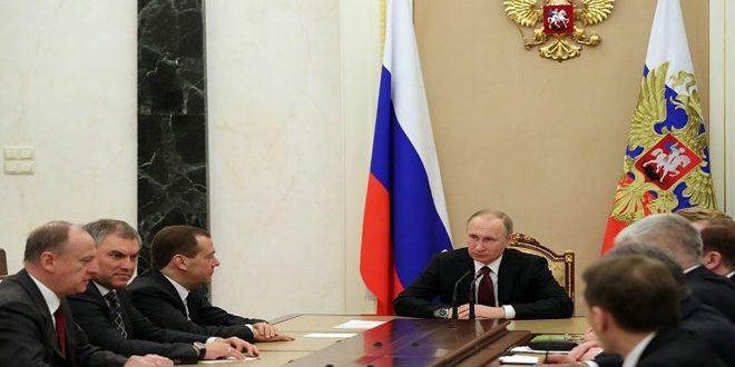 Photo of مجلس الأمن الروسي: العدوان الأمريكي على سورية عمل عدائي يخالف القانون الدولي