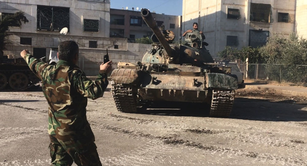 Photo of القضاء على مجموعة إرهابية حاولت التسلل إلى نقطة عسكرية بريف السلمية