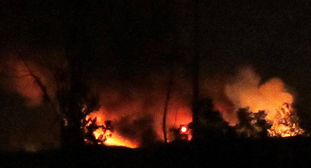 Photo of انفجاراتضخمةفيمحيطمطاردمشقالدولي