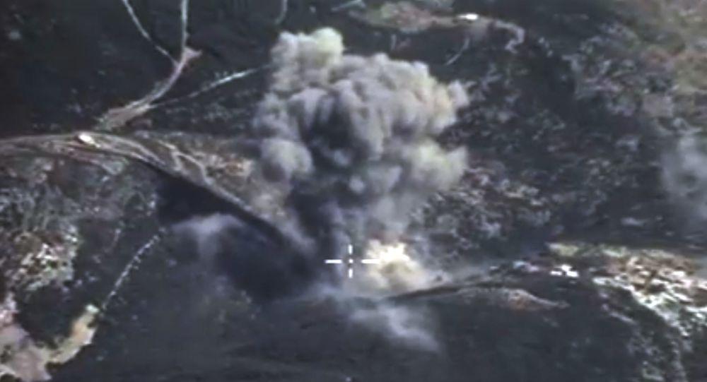 Photo of مقتل 22 إرهابياً بقصف جوي بجسر الشغور