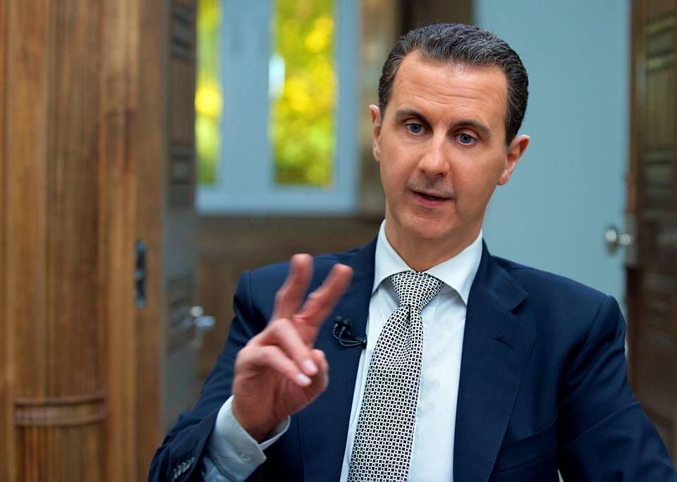 Photo of الأسد: الغرب فبرك قصة الكيميائي في خان شيخون لشن الهجوم ضد سورية