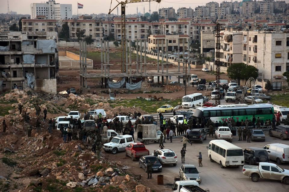 Photo of إتمام تنفيذ المرحلة الأولى من اتفاق إخراج أهالي بلدتي كفريا والفوعة