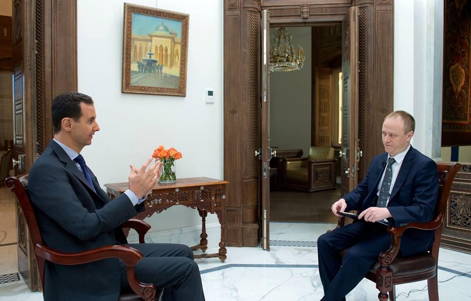 """Photo of الأسد ينفي خبر القاء القبض على متزعم داعش """"البغدادي"""""""