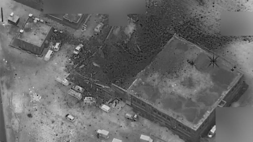 Photo of بالفيديو- الطائرات الأمريكية اقصف مسجداً بحضور مئات المدنيين بريف حلب