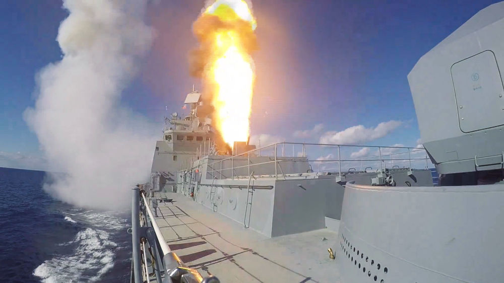 "Photo of صواريخ ""كاليبر"" الأميرال غريغوروفتش تعود للسواحل السورية"
