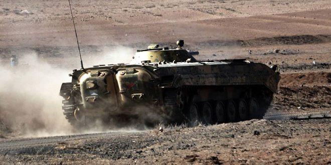 إحباط هجوم إرهابي على نقاط عسكرية بحمص
