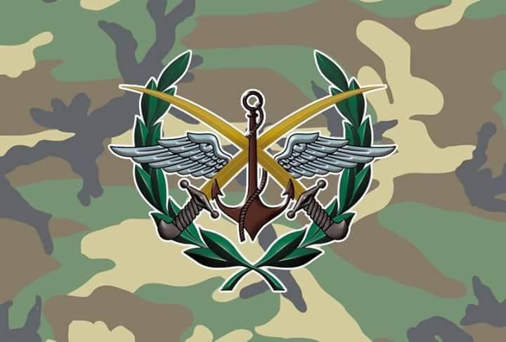 """Photo of قيادة الجيش: التحالف الامريكي قصف مستودع يحتوي مواد سامة لتنظيم """"داعش"""" في حطلة بدير الزور"""
