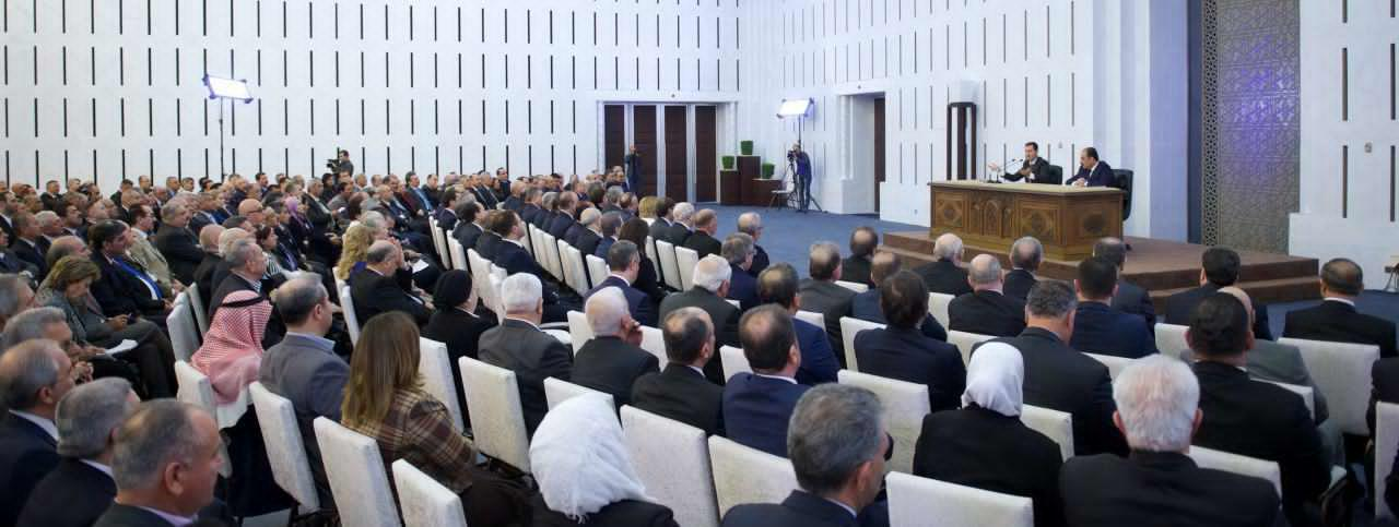 Photo of الرئيس الأسد يترأس اجتماعاً موسّعاً للجنة حزب البعث المركزية