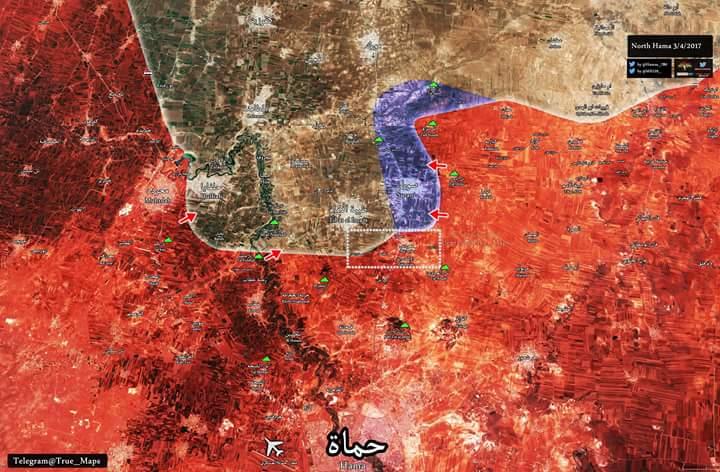 Photo of بالخريطة|| وحدات الجيش السوري تسيطر على بلدات معردس والاسكندرية بريف حماة الشمالي