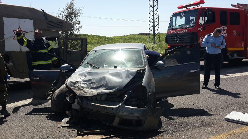 Photo of عاجل : حادث سير لعائله من بقعاثا بالقرب من كفر نفاخ